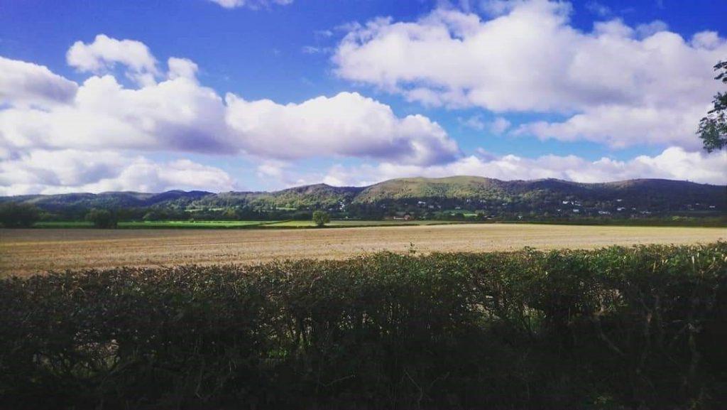Panoramic of the Malvern Hills